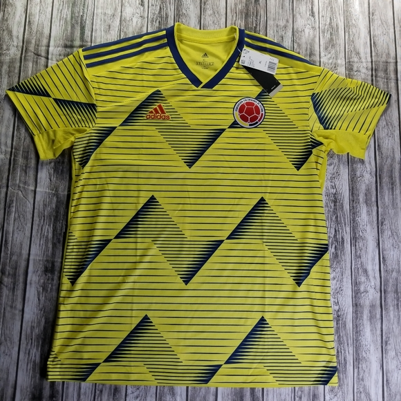 R egipcio Fraude  adidas Shirts | Colombia Home Mens Soccer Jersey Sizexl | Poshmark